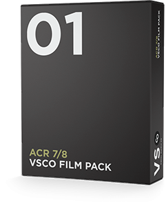 VSCO FILM 01 for Adobe Camera Raw 7 & 8 (CS6)