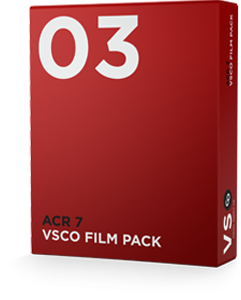 VSCO FILM 03 for Adobe Camera Raw 7 (CS6)