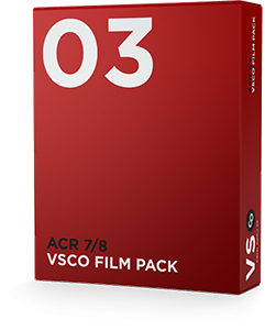 VSCO FILM 03 for Adobe Camera Raw 7 & 8 (CS6)
