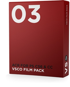 VSCO FILM® 03 for ACR for PS CS6 & CC