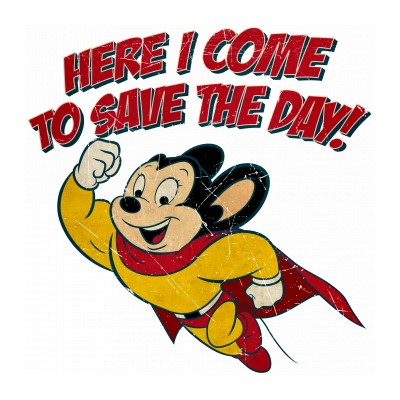Mighty Mouse - Here I Come to Save the Day