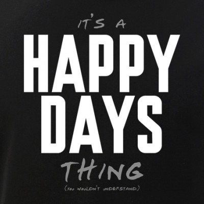 It's a Happy Days Thing