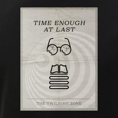 Time Enough at Last Minimal Poster