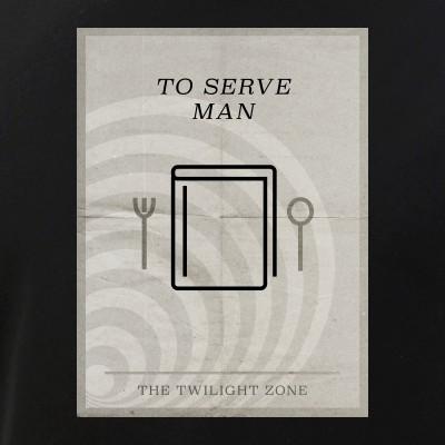 To Serve Man Minimal Poster