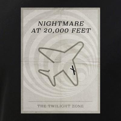 Nightmare at 20,000 Feet Minimal Poster