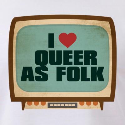 Retro I Heart Queer as Folk