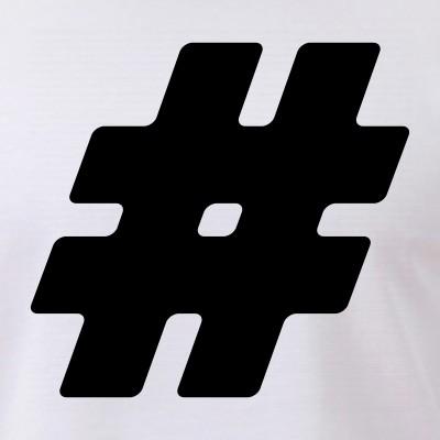 Black #Hashtag