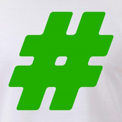 Green #Hashtag