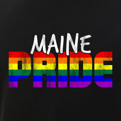 Maine Pride LGBT Flag