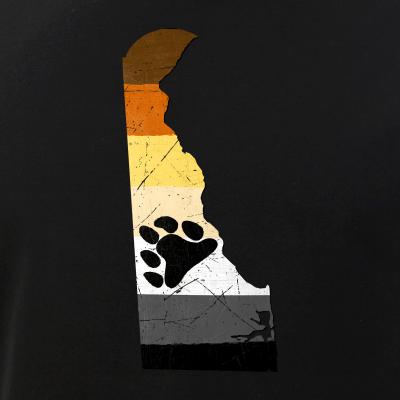 Delaware Silhouette Bear Pride Flag