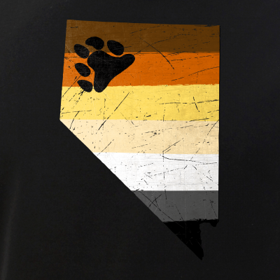 Nevada Silhouette Bear Pride Flag