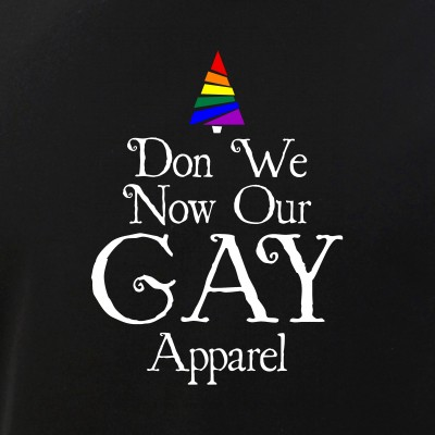 Don We Now Our Gay Apparel LGBT Christmas Tree