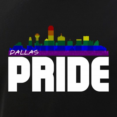 Dallas Skyline Rainbow LGBT Pride