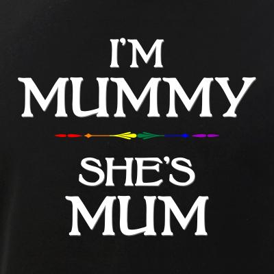 I'm Mummy - She's Mum LGBT Lesbian Mothers