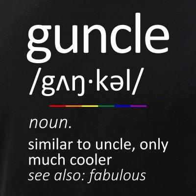 Guncle Definition - Fabulous Gay Uncle