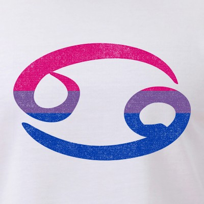 Bisexual Pride Flag Cancer Zodiac Sign