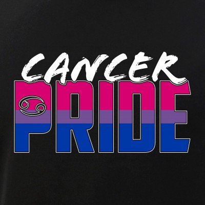 Cancer Bisexual Pride Flag Zodiac Sign