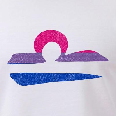 Bisexual Pride Flag Libra Zodiac Sign