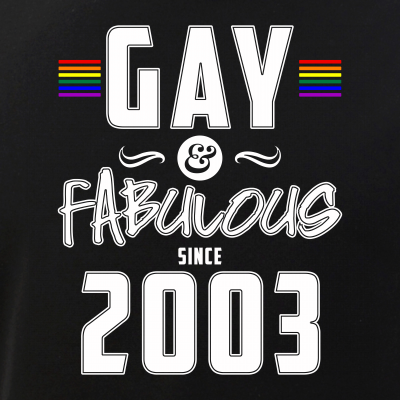 Gay and Fabulous Since 2003