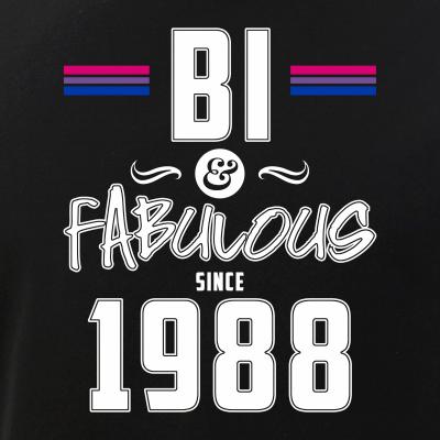 Bi and Fabulous Since 1988 Bisexual Pride