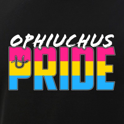 Ophiuchus Pansexual Pride Flag Zodiac Sign