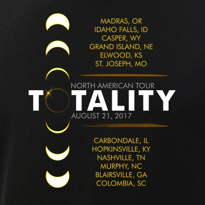 August 21 Total Eclipse Totality North American Tour