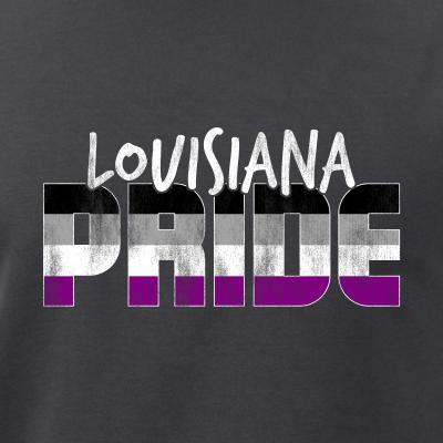 Louisiana Pride Asexual Flag