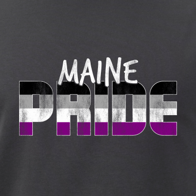 Maine Pride Asexual Flag