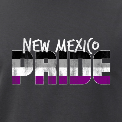 New Mexico Pride Asexual Flag