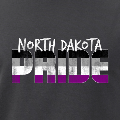 North Dakota Pride Asexual Flag