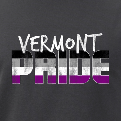 Vermont Pride Asexual Flag