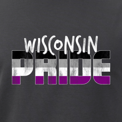 Wisconsin Pride Asexual Flag
