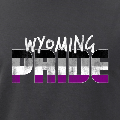 Wyoming Pride Asexual Flag
