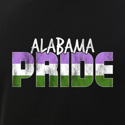 Alabama Pride Genderqueer Flag