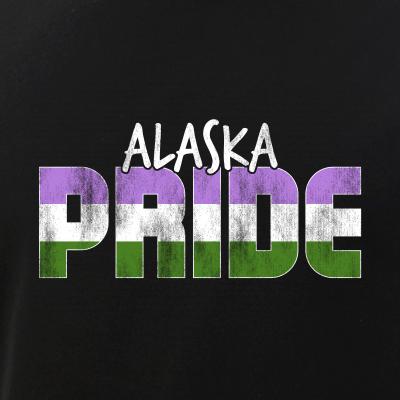 Alaska Pride Genderqueer Flag