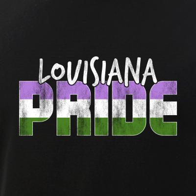Louisiana Pride Genderqueer Flag