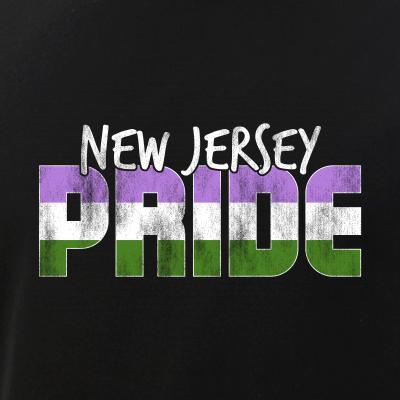 New Jersey Pride Genderqueer Flag