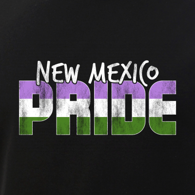New Mexico Pride Genderqueer Flag