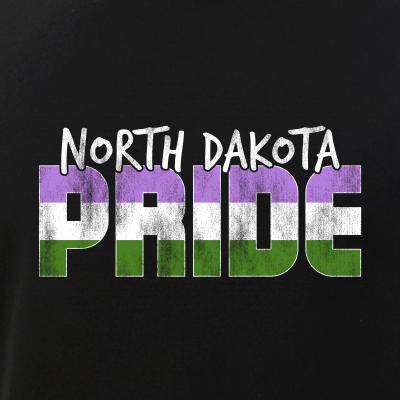 North Dakota Pride Genderqueer Flag