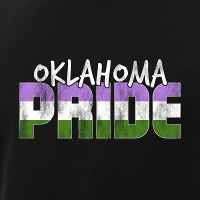 Oklahoma Pride Genderqueer Flag