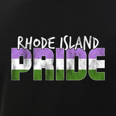 Rhode Island Pride Genderqueer Flag