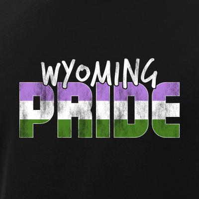 Wyoming Pride Genderqueer Flag