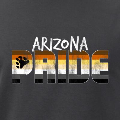 Arizona Pride Gay Bear Flag