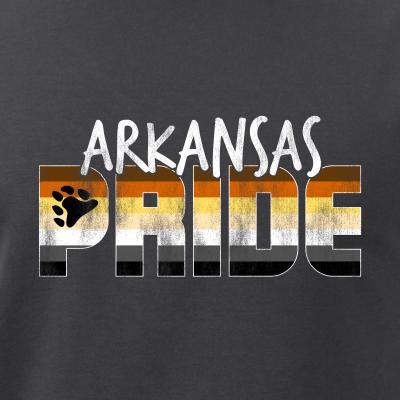 Arkansas Pride Gay Bear Flag