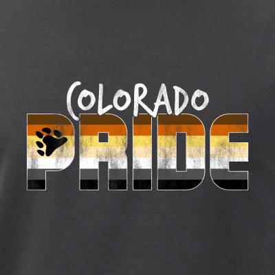 Colorado Pride Gay Bear Flag