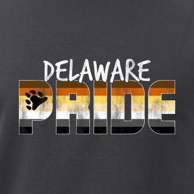 Delaware Pride Gay Bear Flag