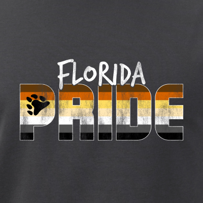 Florida Pride Gay Bear Flag