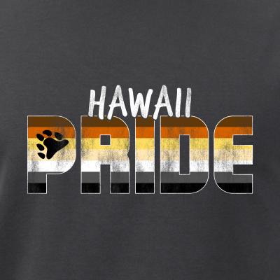 Hawaii Pride Gay Bear Flag
