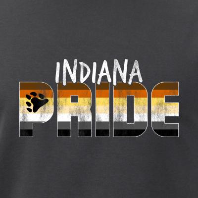 Indiana Pride Gay Bear Flag