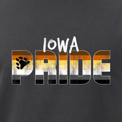 Iowa Pride Gay Bear Flag